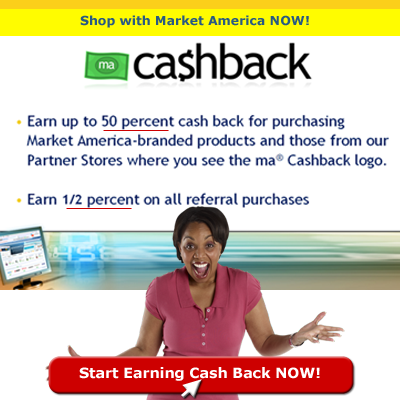 Market America Cash Back program